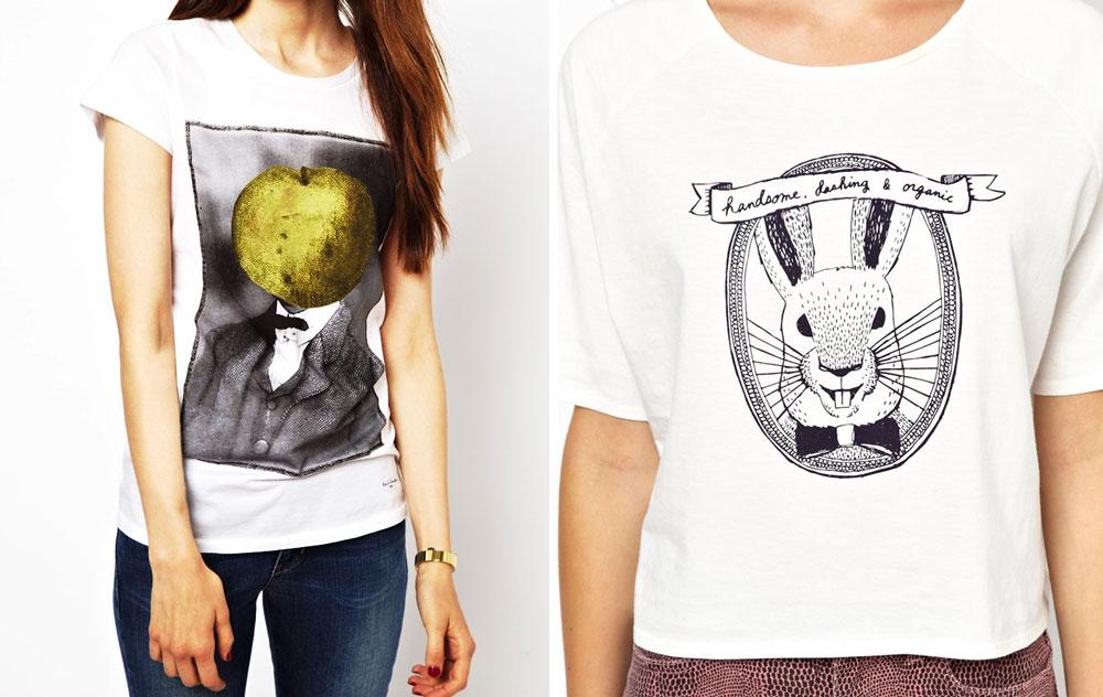 White Graphic T-Shirt: ASOS picks