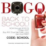 Daily Deal: Zoya's BOGO Event
