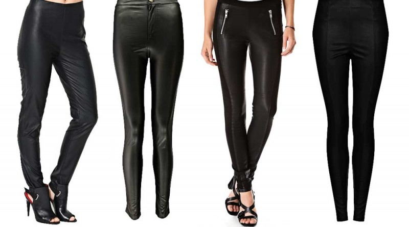 Budget Faux Leather Jeggings/Treggings