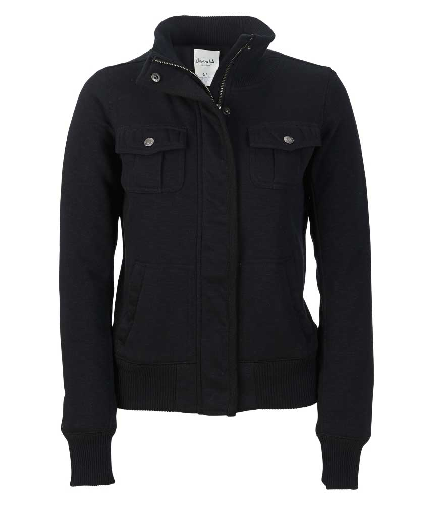 Fleece Bomber Jacket