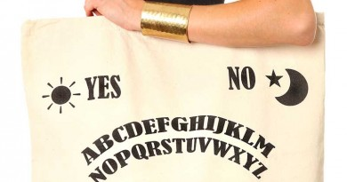 Daily Deal: Ouija Board Laundry Tote