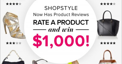 ShopStyle Review Giveaway - Image