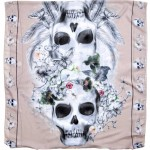 Daily Deal: Skull Print Scarf