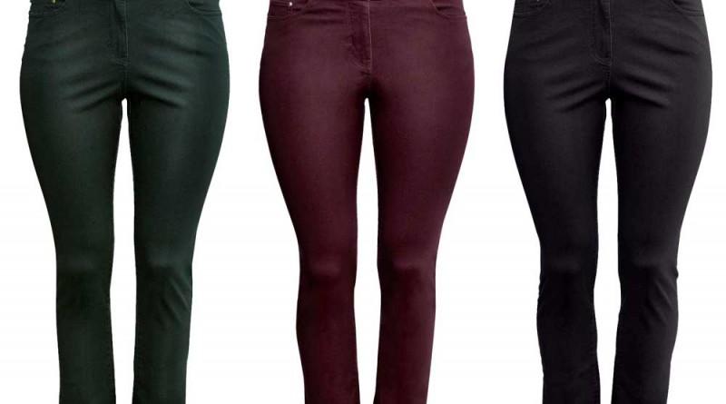 H&M+ Twill Slim Pants