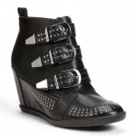 Monday Wedgie: Studded Ankle Boots