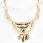 Daily Deal: Panacea Golden Necklace