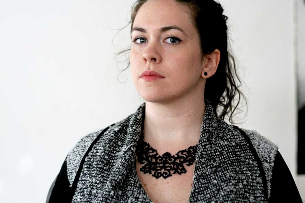 Baroque Necklace & Boucle Sweater