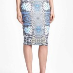 Daily Deal: Leith Geometric Pattern Pencil Skirt