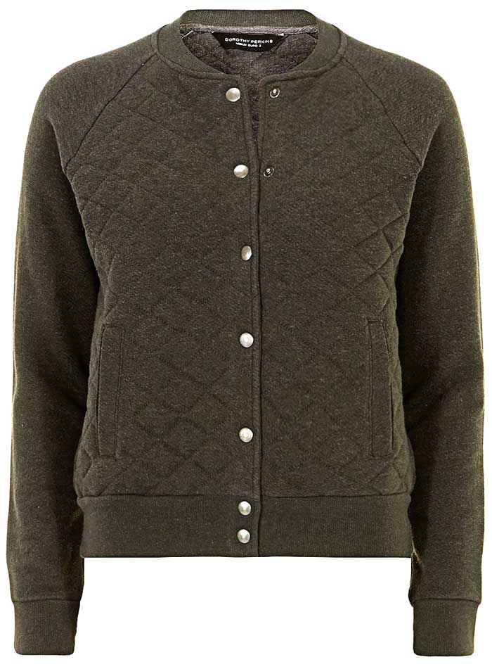 Daily Deal: Quilted Varsity Jacket