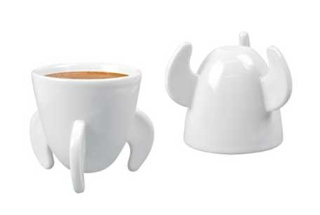Rocket Blast Off Espresso Cups