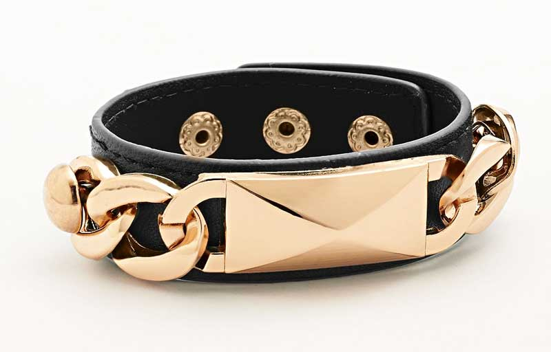 Daily Deal: Jennifer Lopez Chain Link Cuff • Broke and