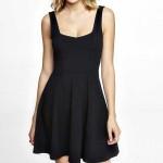 Daily Deal: Little Black Corset Skater Dress