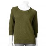 Daily Deal: Basic Crewneck Raglan Sweater