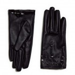 Daily Deal: Studded Faux Leather Gloves