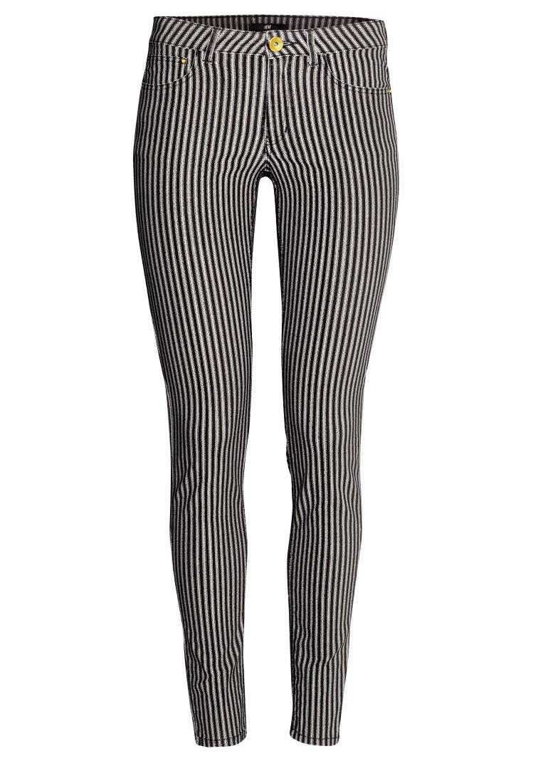 H&M Striped Twill Pants