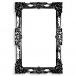 Daily Deal: Ornate Frame Dry Erase Board Decal