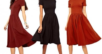 Daily Deal: ASOS Short Sleeve Midi Dress