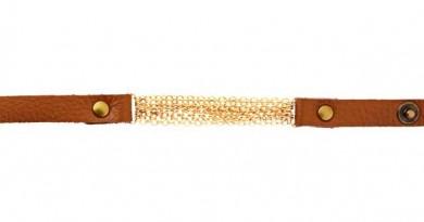 Panacea Leather Chain Bracelet