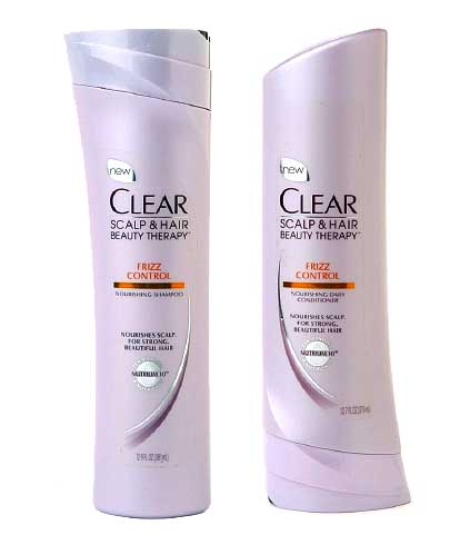 CLEAR Haircare Scalp Therapy Nourishing Frizz Control