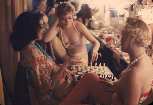 Gordon Parks Backstage Showgirls