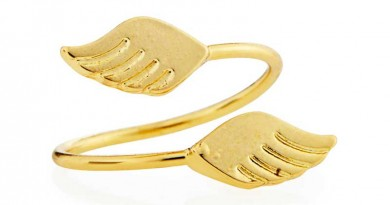 Daily Deal: Jules Smith Gold-Plated Wings Midi Ring