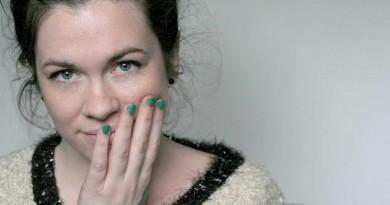 I'm Wearing: My favorite green nail polish