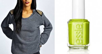 Neutral Sweaters + Bright Nails :: Affordable Fashion