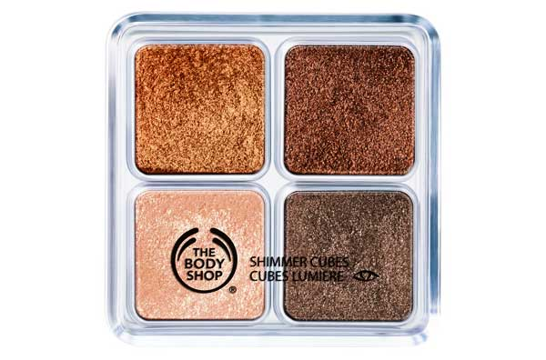 Daily Deal The Body Shop Chocolate Box Shimmer Cubes