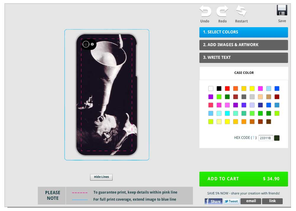 Creating a Custom iPhone Case with Caseable