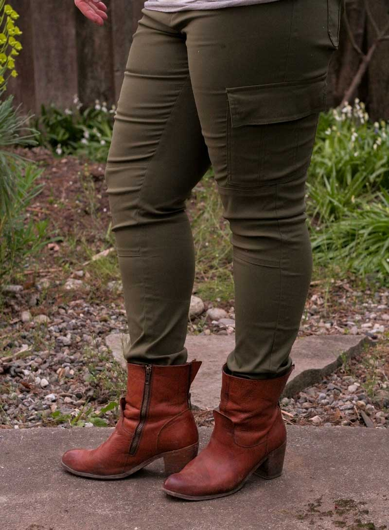 Outfit: Prana Cargo Skinny Pants