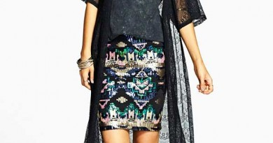PAinted Threads Lace Festival Duster Jacket