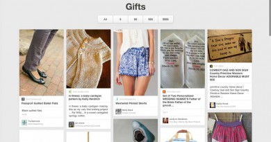 Pinterest Gifts Feed - Organize by Price!