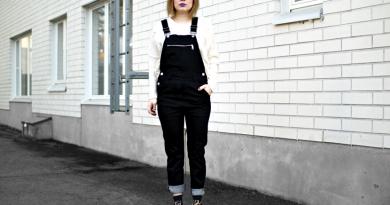 Anna in Overalls