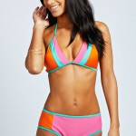 Daily Deal: boohoo Chili Colorblock Bikini