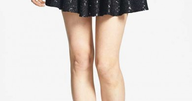 "Daily Deal: One Rad Girl ""Melanie"" Sequin Skater Skirt"
