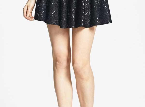"""Daily Deal: One Rad Girl """"Melanie"""" Sequin Skater Skirt"""