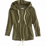 ADD: AE V-Neck Drawstring Hoodie
