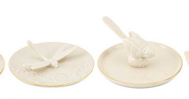 Lenox Porcelain Ring Holders