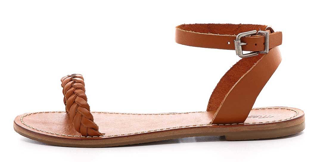 Best Minimalist Sandals: Madewell Sightseer Braided Sandals