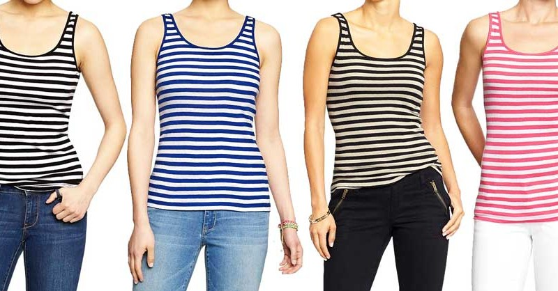 Almost Daily Deal: Old Navy Striped Tanks for $4