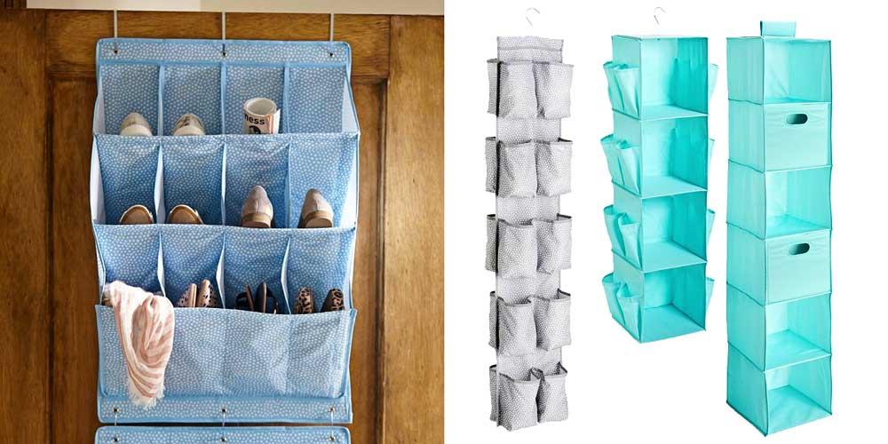 #PBDorm Vertical Storage Closet Solutions