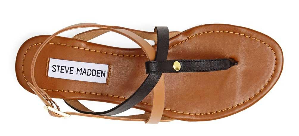 Best Minimalist Sandals: Steve Madden Kroatia Sandals