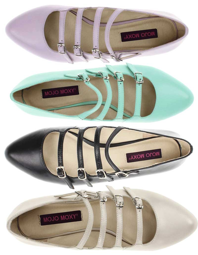 Daily Deal: Mojo Moxy Pastel Buckled Flats