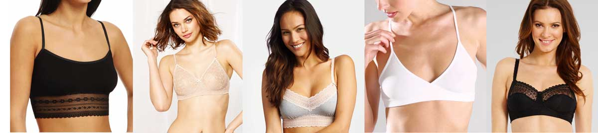 Beautiful, Lightly Supportive Bralettes