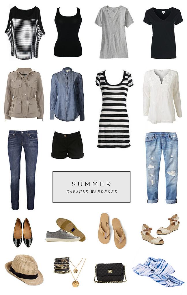 Summer Capsule Wardrobe By Roots Wings amp Wanderings