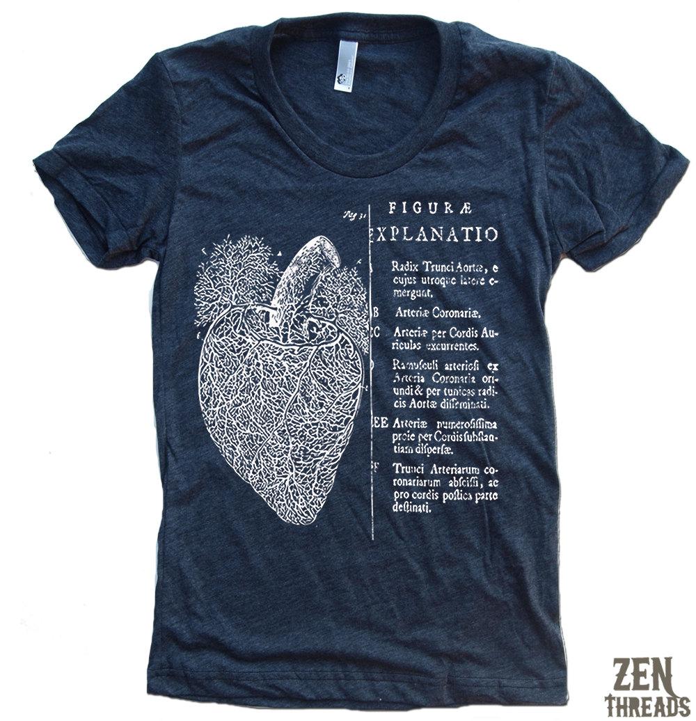 Graphic Tee Club: Anatomical Heart Graphic Tee