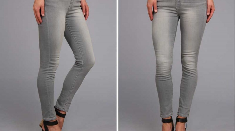 Daily Deal: Calvin Klein Skinny Gray Ankle Jeans