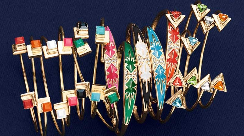 Daily Deal: Stackable Stone & Enamel Cuffs by Sequin