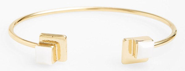 Daily Deal: Stone & Gold Cuff by Sequin