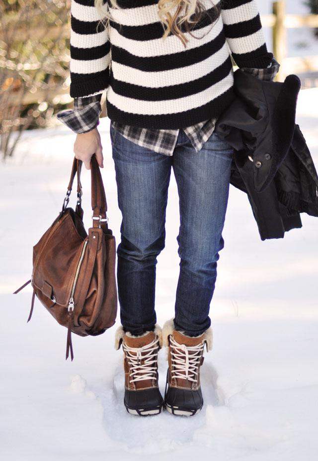 Love Maegan Utility Boots Snow